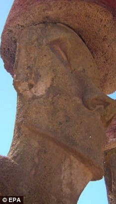Finnish Tourist Who Chopped Ear Off Ancient Easter Island