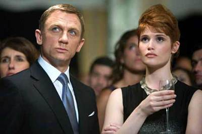 Gemma Arterton joined Daniel Craig in Quantum of Solace