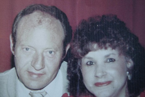 Michael Morris and wife Pamela