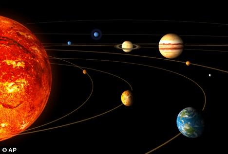 Our solar system is egg-shaped, according to distant space ...