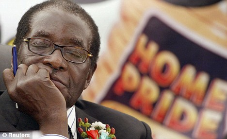 Mugabe has received hundreds of millions of pounds from Chinese sources