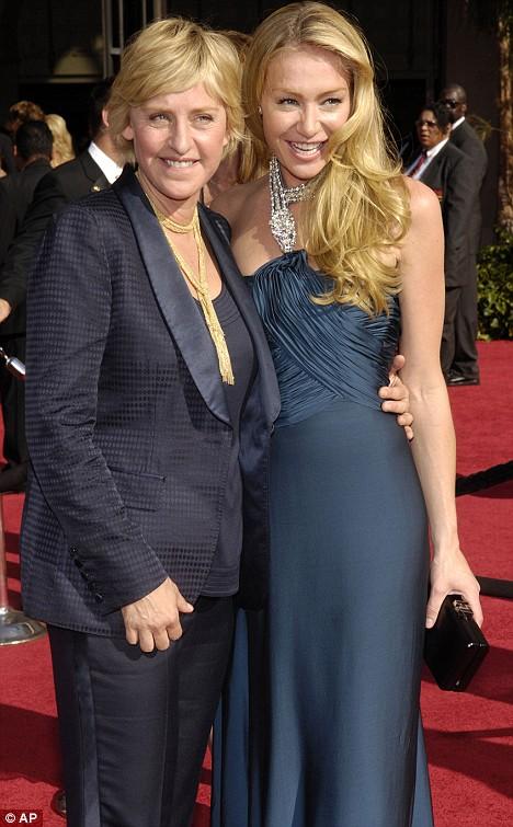 Ellen DeGeneres set to wed actress girlfriend Portia De ...