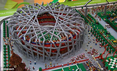 The Birds Nest... Lego version