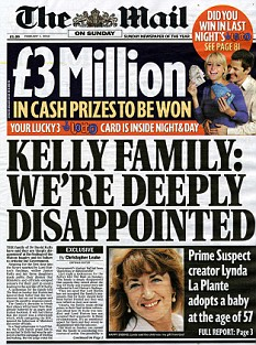 The family of David Kelly were 'deeply disappointed' at the findings of the Hutton Inquiry and its failure to criticise the Government