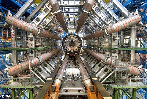 This incredible machine will unlock mysteries that have perplexed the human race for centuries. Oh, hang on, there's a bit of baguette. Forget I said anything.
