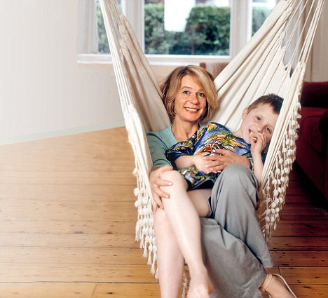 Virginia Bovell and son, Danny