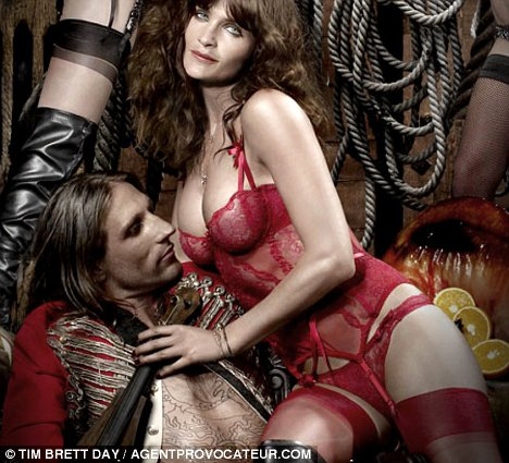 Danish supermodel Helena Christensen is starring in the latest Agent Provocateur video as a voluptuous Pirate Queen.
