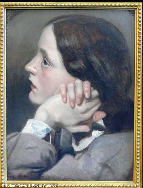 Portrait of Effie Gray by John Everett Millais