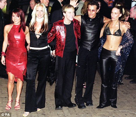 Steps Brit Awards 2000