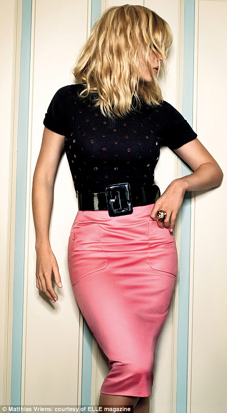'I've achieved my ultimate figure,' says Kate Winslet, in her interview with this month's ELLE Magazine