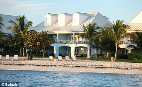 John Travolta's house in the Bahamas where Jett died