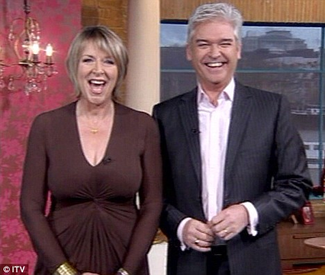 ern Britton returning to her usual role of presenting This Morning alongside Phillip Schofield