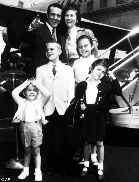 Pictures Ricardo Montalbans Family