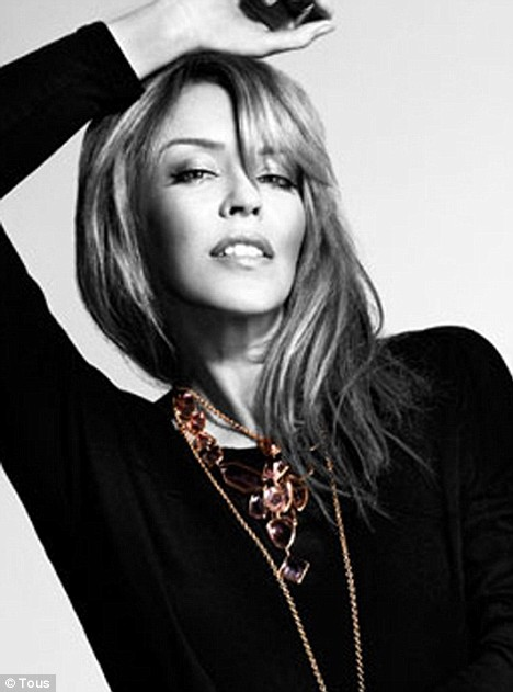 KYLIE MINOGUE IN NEW AD FOR TOUS.