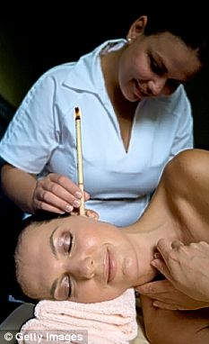 Ear candle therapy