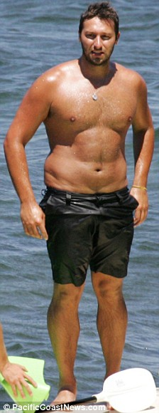 former Australian Olympic medalist swimmer Ian Thorpe