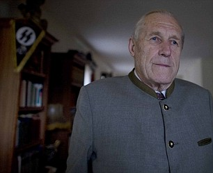 Former Waffen SS officer and unrepentant Nazi Herbert Schweiger