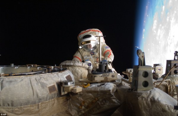 Astronauts forced to take refuge in escape pod after ...