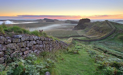 Hadrian's Wall and Housesteads Fort