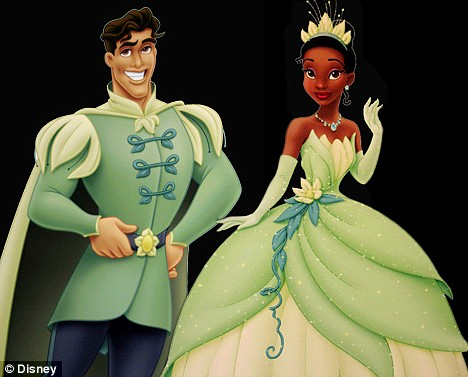 Princess Tiana and her Prince Naveen