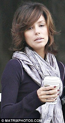 Hair Today Gone Tomorrow Eva Longoria Tries Yet Another