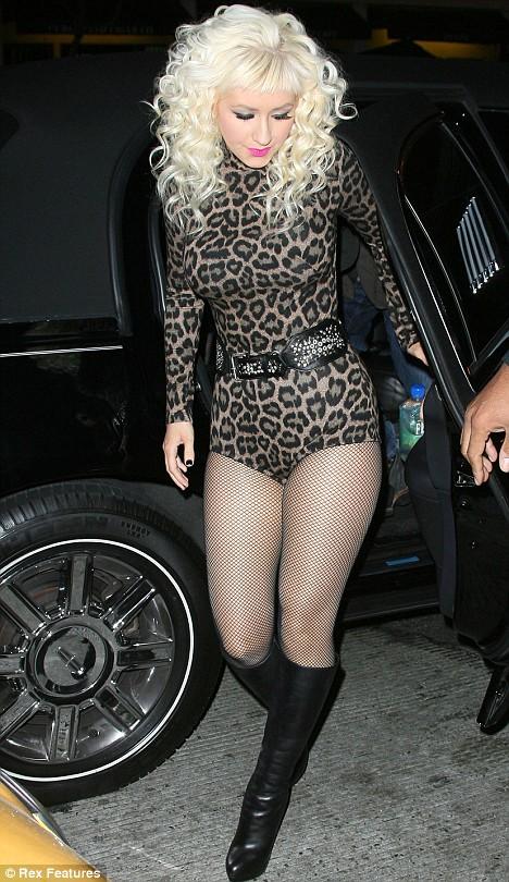Christina Aguilera Perez Hilton's 31st Birthday Bash
