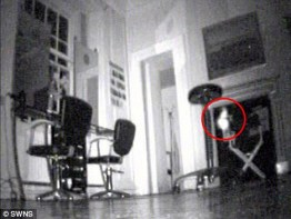 Ghostly orb caught on camera