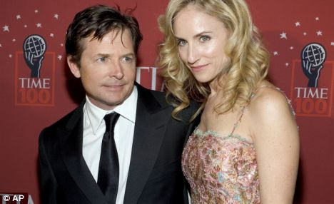 Michael J. Fox and wife Tracy Pollen