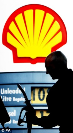 Profit warning: Royal Dutch Shell says it could be another 12 months before oil price bounce back