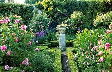 Edwardian knot garden