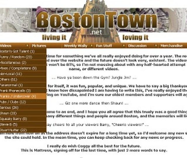 Mr Haw Posted The Videos On Bostontown Net In A Bid To Name And