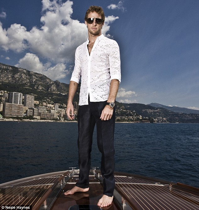Drip: Jenson Button and his boat
