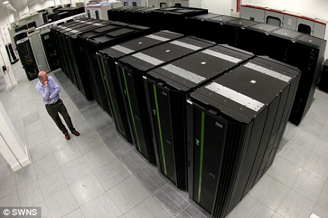 Met Office Supercomputer from IBM