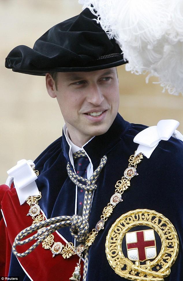 Resultado de imagen para prince william order garter