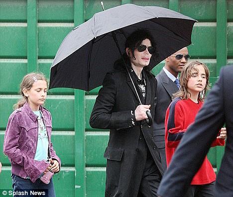 Jackson and children