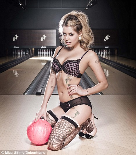 Peaches Geldof modeling the brand new collection from Miss Ultimo