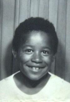Luke Davis taken in 1972 aged about 6 in Castlebar