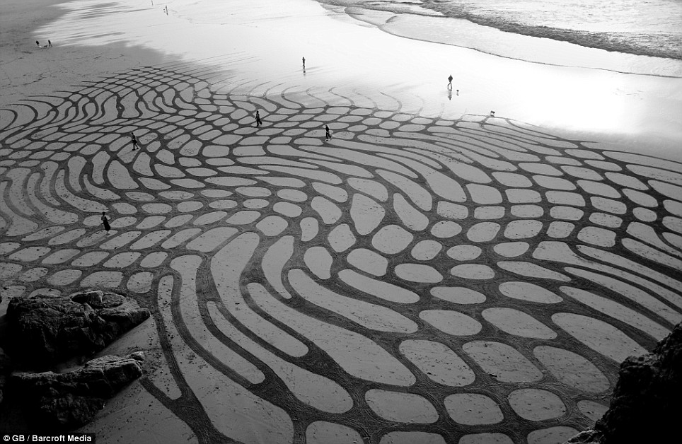 Race Against The Tide Artist Creates Intricate