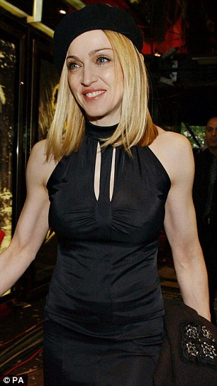 Maddonas Arm Perfection in 2005