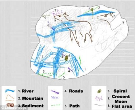 Peta Tua diperkirakan 14.000 tahun silam sudah mengenal peradaban