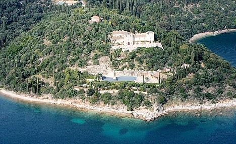 Greek idyll: The Rothschild estate on Corfu