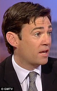 Health Secretary Andy Burnham