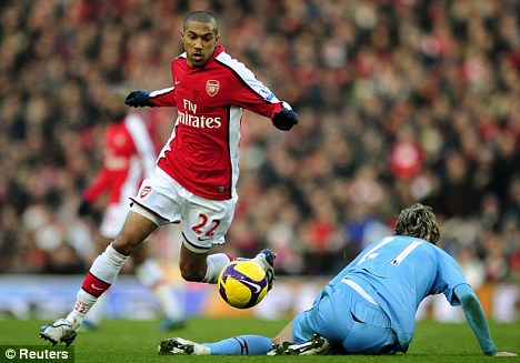 Clichy doing what he does best