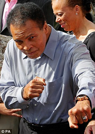 Muhammad Ali visits Ennis County Clare, Ireland