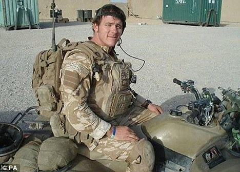 Hero: Mr McAleese was left heartbroken when his son, Sergeant Paul McAleese, died after a Taliban blast in Afghanistan