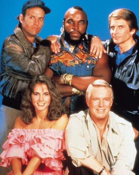 New A-Team remake is in full flight as B.A. takes to the ...