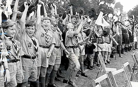 Image result for first world scout jamboree