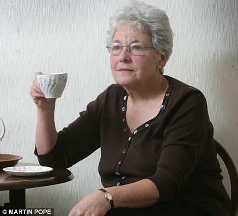 Threatened with prosecution: Pensioner Pauline Howe was warned she might be guilty of a hate crime after complaining about a gay rally