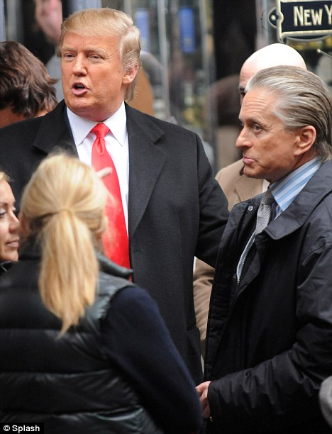 Image result for Trump meet Gordon Gekko