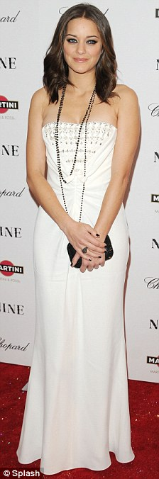 Marion Cotillard at the New York premiere of Nine